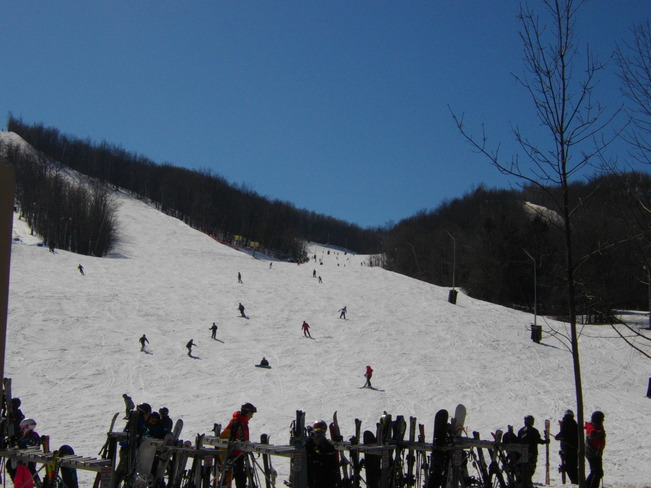 Skiing Collingwood, Ontario Canada