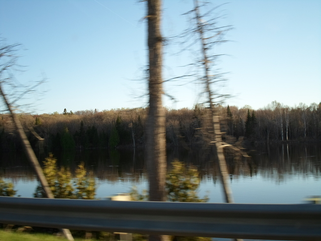 Between Iron Bridge and Bruce Mines