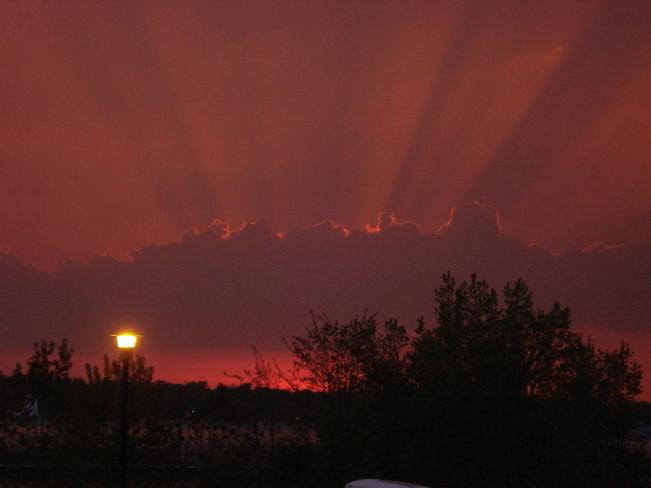 Stormy Sarnia, Ontario Canada
