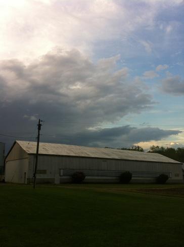 clouds Thamesford, Ontario Canada