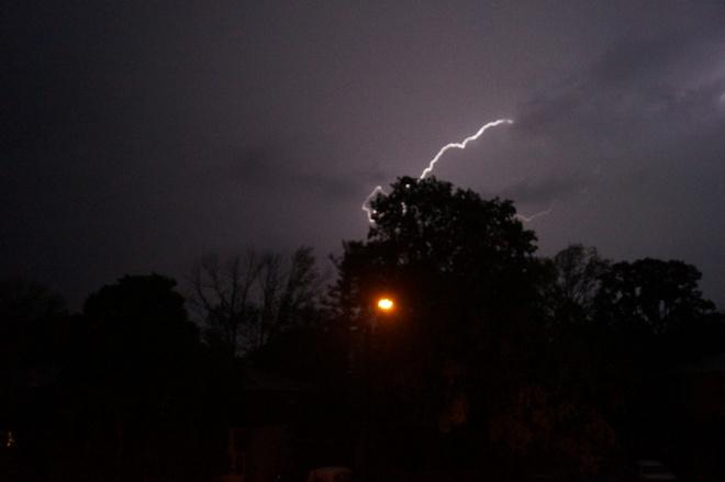 thunder storm Orillia, Ontario Canada