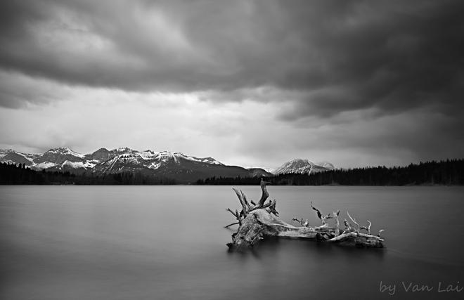 stormy day Beaver Mines, Alberta Canada