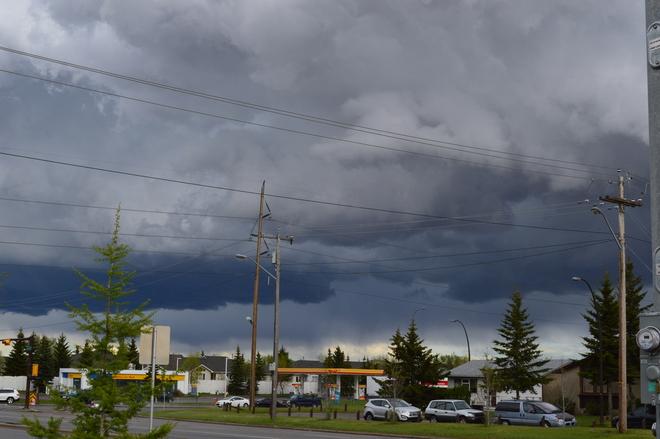 Thunder? Calgary, Alberta Canada