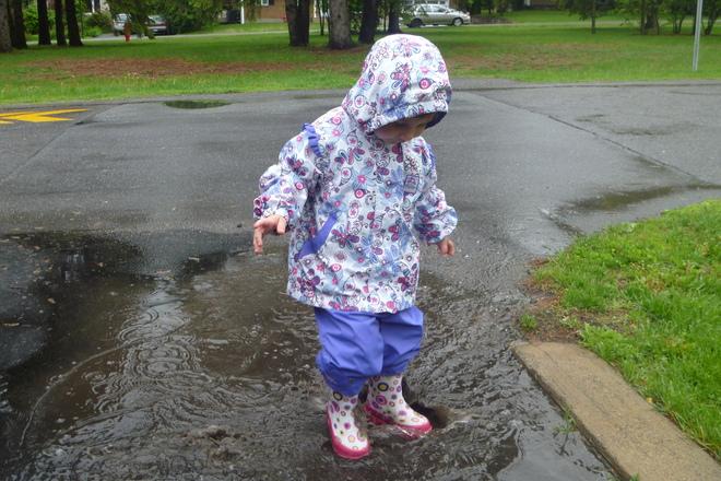 Some like all this rain Otterburn Park, Quebec Canada
