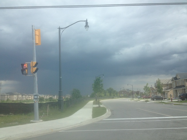 looking South Woodbridge, Ontario Canada