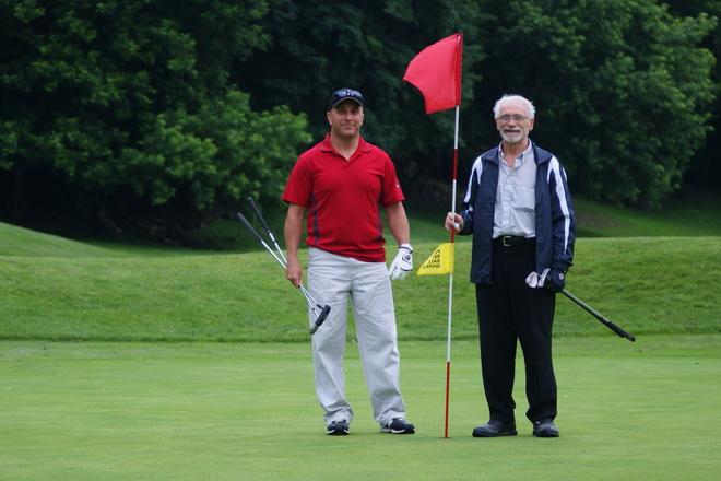 Golfing on fathers day Niagara On The Lake, Ontario Canada