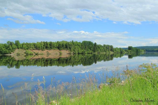 St John River Meductic, New Brunswick Canada