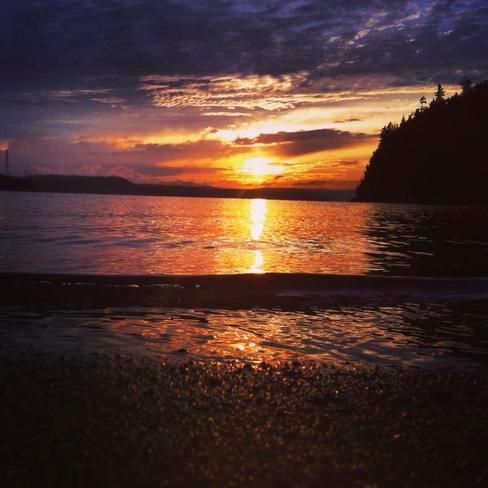Sunset Saint John, New Brunswick Canada