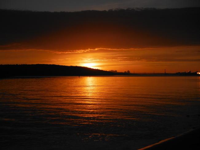 Sunset Eastern Passage, Nova Scotia Canada