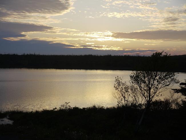 Sunset at Long Pond Bay Bulls, Newfoundland and Labrador Canada