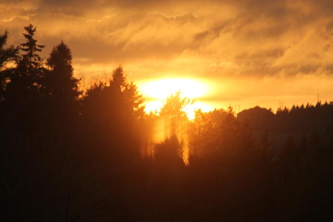 sunset Moncton, New Brunswick Canada