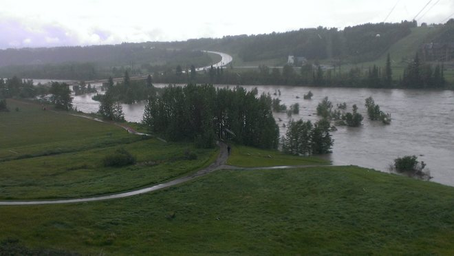 Cochrane Flooding Cochrane, Alberta Canada