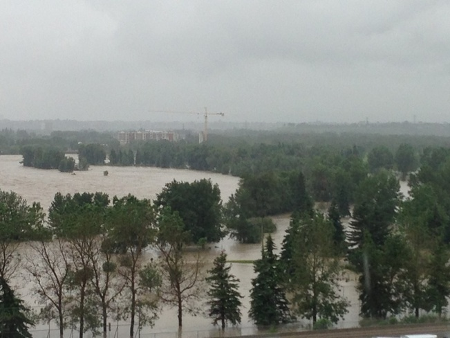 #yycflood Calgary, Alberta Canada