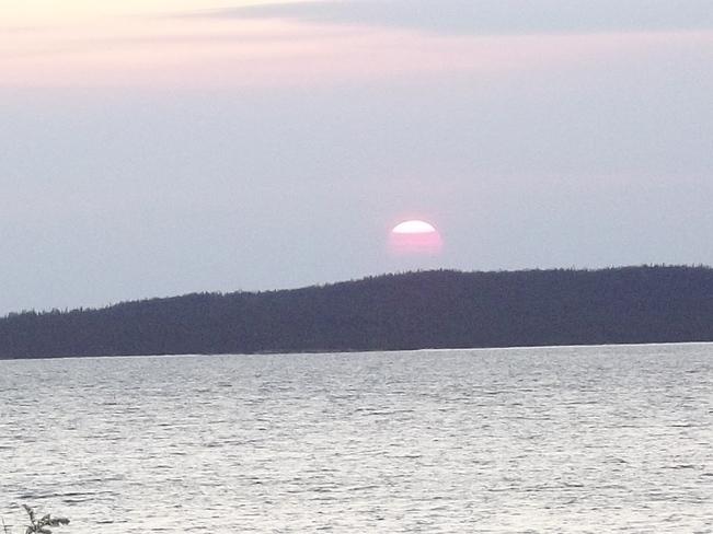 Setting Sun Birchy Bay, Newfoundland and Labrador Canada