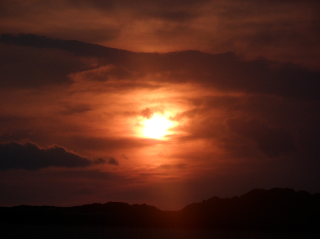 Sunset Twillingate, Newfoundland and Labrador Canada