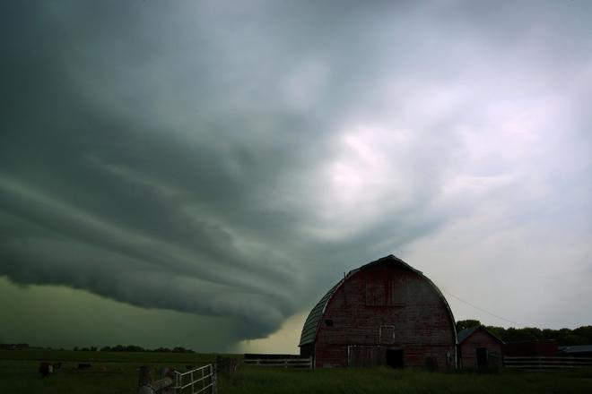 Old Barn Douglas, Manitoba Canada