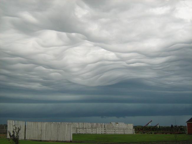 Oncoming Storm Saltcoats, Saskatchewan Canada