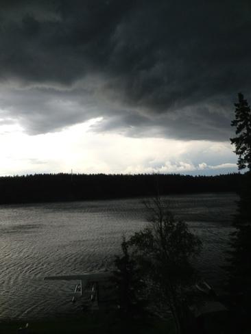 thunderstorm Kenora, Ontario Canada