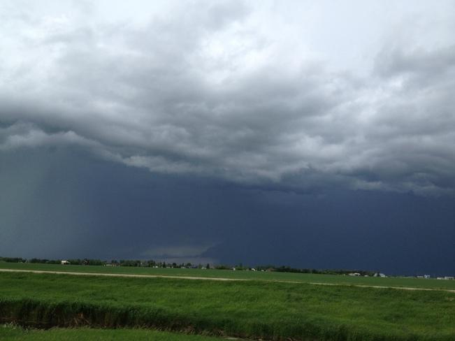 Very Dark Skies West St. Paul, Manitoba Canada