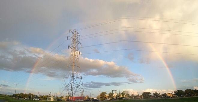 Full Rainbow Winnipeg, Manitoba Canada