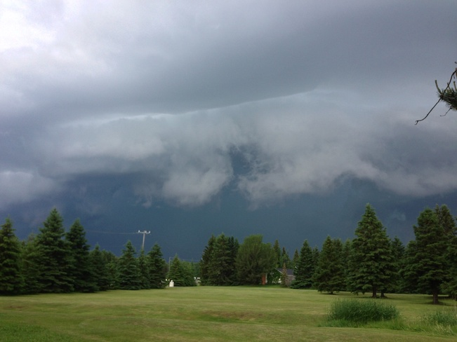 Thunder clouds Thunder Bay, Ontario Canada