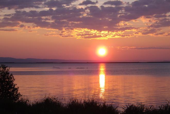 SUNRISE ON LAST DAY OF JUNE Thunder Bay, Ontario Canada