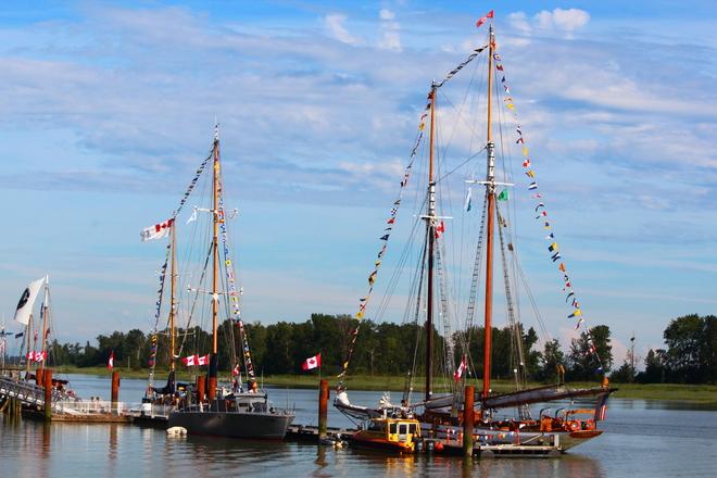 Tall Ship Richmond, British Columbia Canada