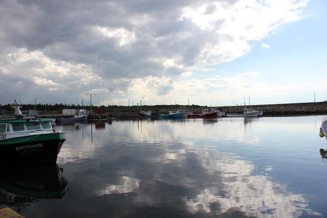 calm before the storm Shippagan, New Brunswick Canada