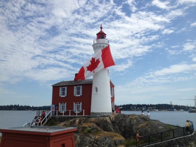 FORT RODD HILL / FISGARD LIGHTHOUSE Langford, British Columbia Canada