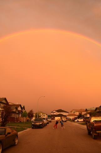 Chasing Rainbows Fort McMurray, Alberta Canada