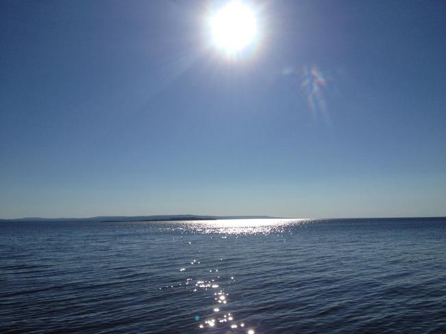 Beach Slave Lake, Alberta Canada