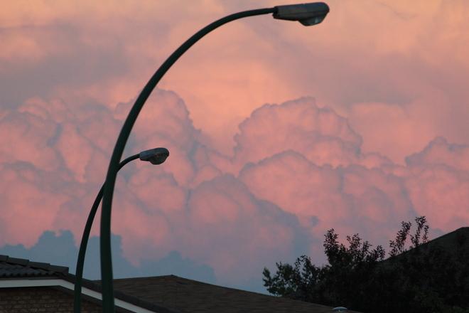 Storm Clouds Medicine Hat, Alberta Canada