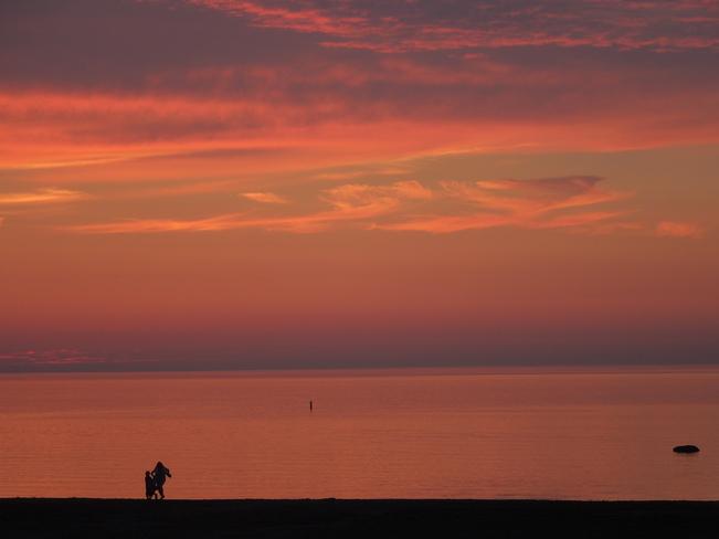 Sunset in July # 2 Wasaga Beach, Ontario Canada