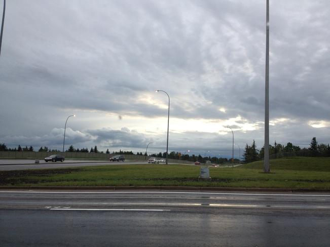 prett clouds Calgary, Alberta Canada