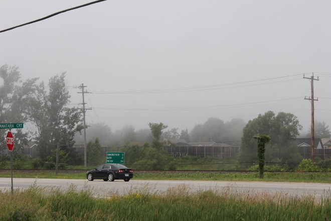 "Fog Came Rolling In ""Kingston "" Kingston, Ontario Canada"