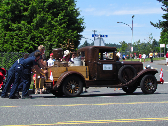 Canada Day Parade Moonshine? Abbotsford, British Columbia Canada