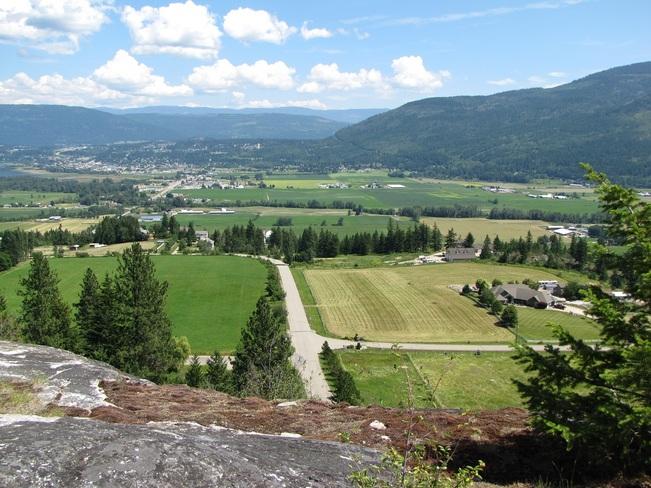 Salmon Arm valley Salmon Arm, British Columbia Canada