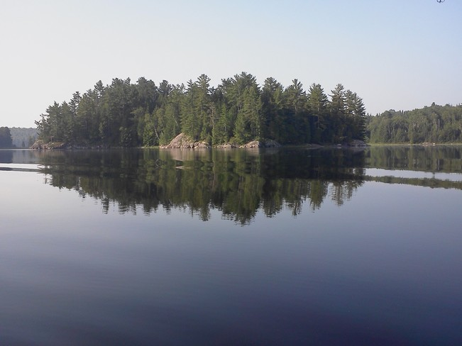 Gone Fishing Elliot Lake, Ontario Canada
