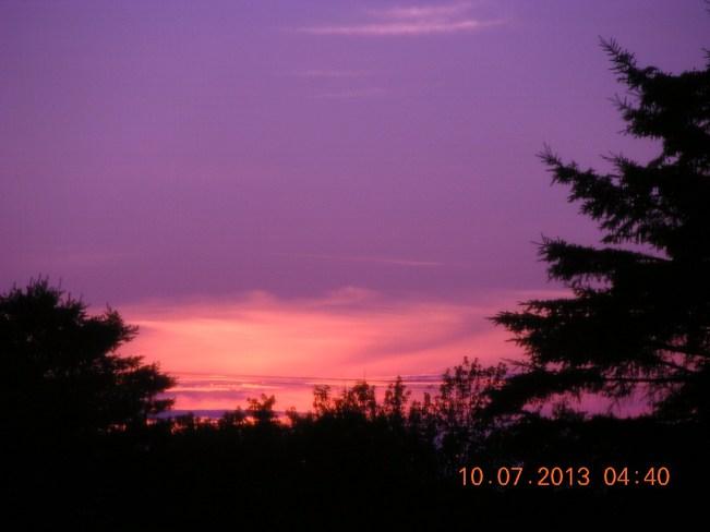 In the Pink Salisbury, New Brunswick Canada