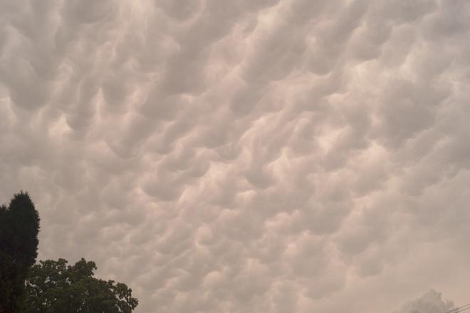 Strange Clouds Hamilton, Ontario Canada