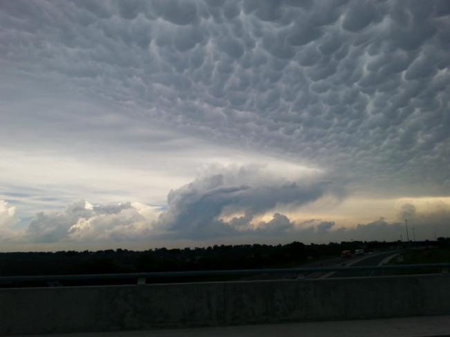 Weird Clouds Windsor, Ontario Canada