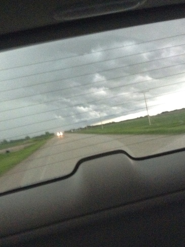 storm Carlyle, Saskatchewan Canada
