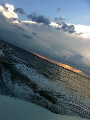 Racing the storm!! Candle Lake, Saskatchewan Canada