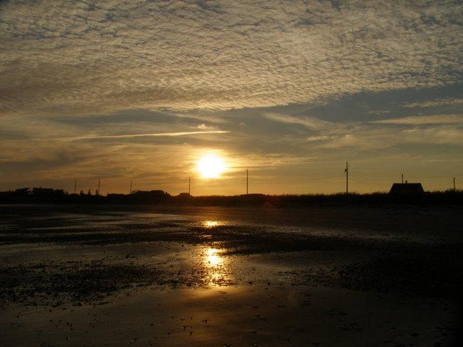 Sunset Yarmouth, Nova Scotia Canada