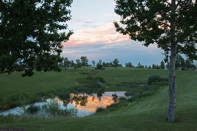 Balmy Summer Sunset Lethbridge, Alberta Canada