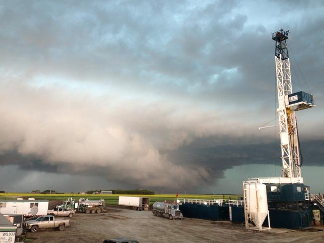 churning clouds Carlyle, Saskatchewan Canada