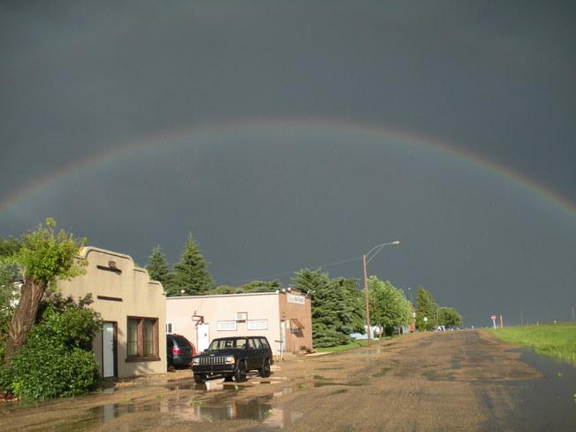 The Back End of the Storm Vibank, Saskatchewan Canada