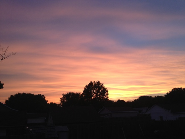 sunset Sarnia, Ontario Canada