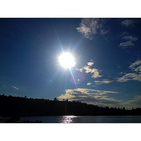 stunning sunset Nestor Falls, Ontario Canada