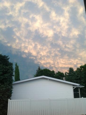 after the storm Kamsack, Saskatchewan Canada